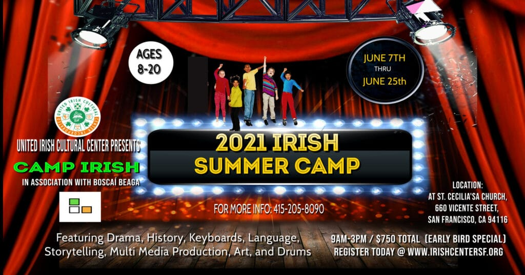 UICC Irish Summer Camp Youth Concert 7pm